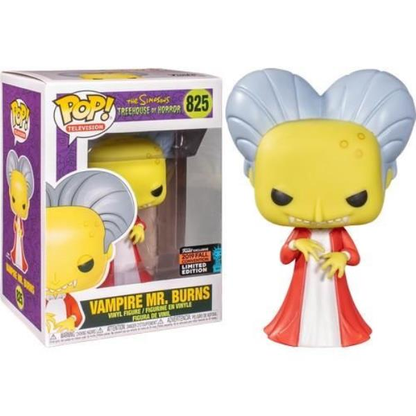Pop! TV #825: The Simpsons Treehouse of Horror: VAMPIRE MR. BURNS Fall Con 2019