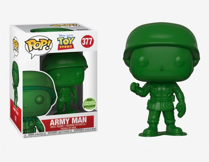 Pop! Disney #377: Toy Story: ARMY MAN Spring Con 2018