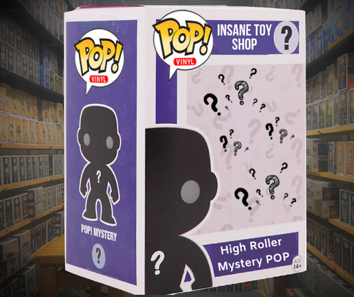 "High Roller Pop! MYSTERY BOX aka ""the Big Baller Box"""