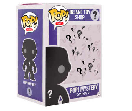 "Disney Mystery Box ""22 EPIC CHOICES, NONE BAD!!! Win an additional $100+ POP!"