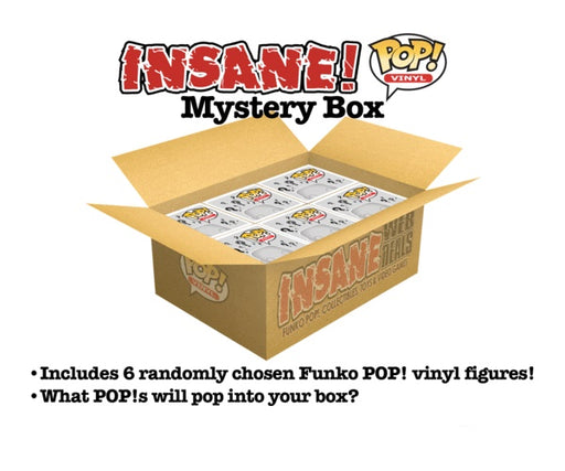Pop! MYSTERY BOX Lot of 6 Funko Pop! Vinyl Figures