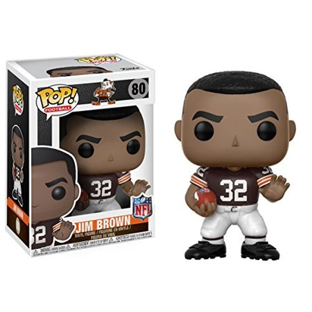 Pop! Sports #80: NFL Legends: Cleveland Browns: JIM BROWN