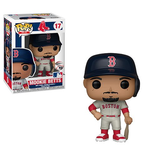 Pop! Sports #17: MLB Baseball: Boston Red Sox: MOOKIE BETTS (Road J.)
