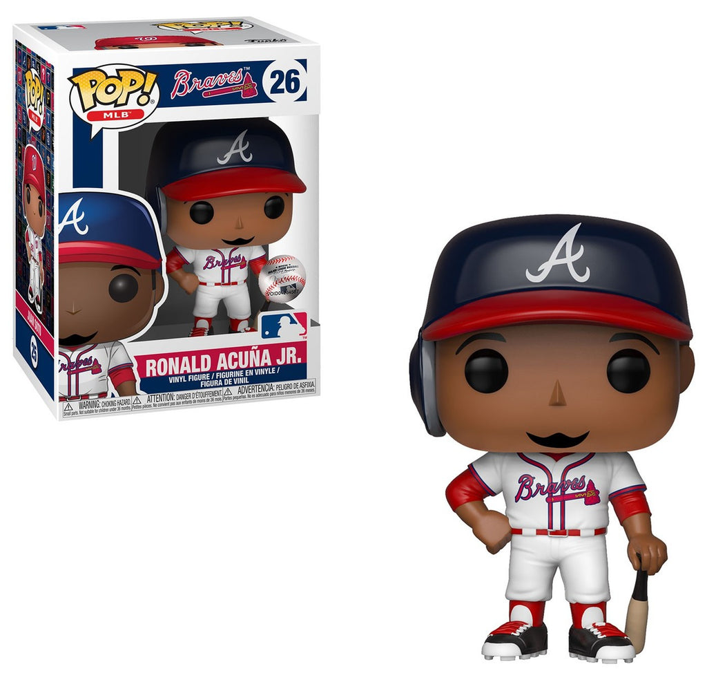 Pop! Sports #26: MLB Baseball: Atlanta Braves: RONALD ACUNA JR.
