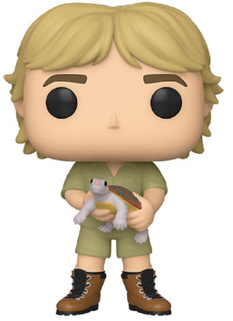 Pop! TV #921: Crocodile Hunter: STEVE IRWIN (with Turtle) Chase Variant