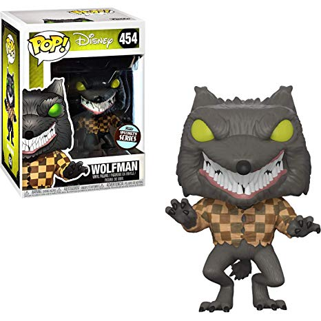 Funko POP! #454: Disney - The Nightmare Before Christmas: WOLFMAN - Specialty Series Edition