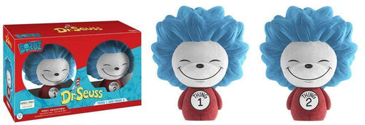 Barnes & Noble Dorbz - Dr. Seuss 2-Pack (Thing 1 & Thing 2  Flocked)