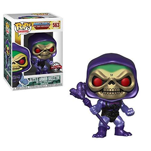 Pop! TV #563: Masters of the Universe: BATTLE ARMOR SKELETOR (Metallic) Gemini