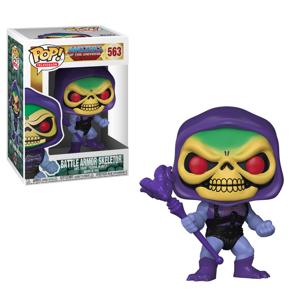Pop! TV #563: Masters of the Universe: BATTLE ARMOR SKELETOR