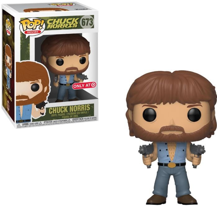 Pop! Movies #673: CHUCK NORRIS (with Two Uzis) Target