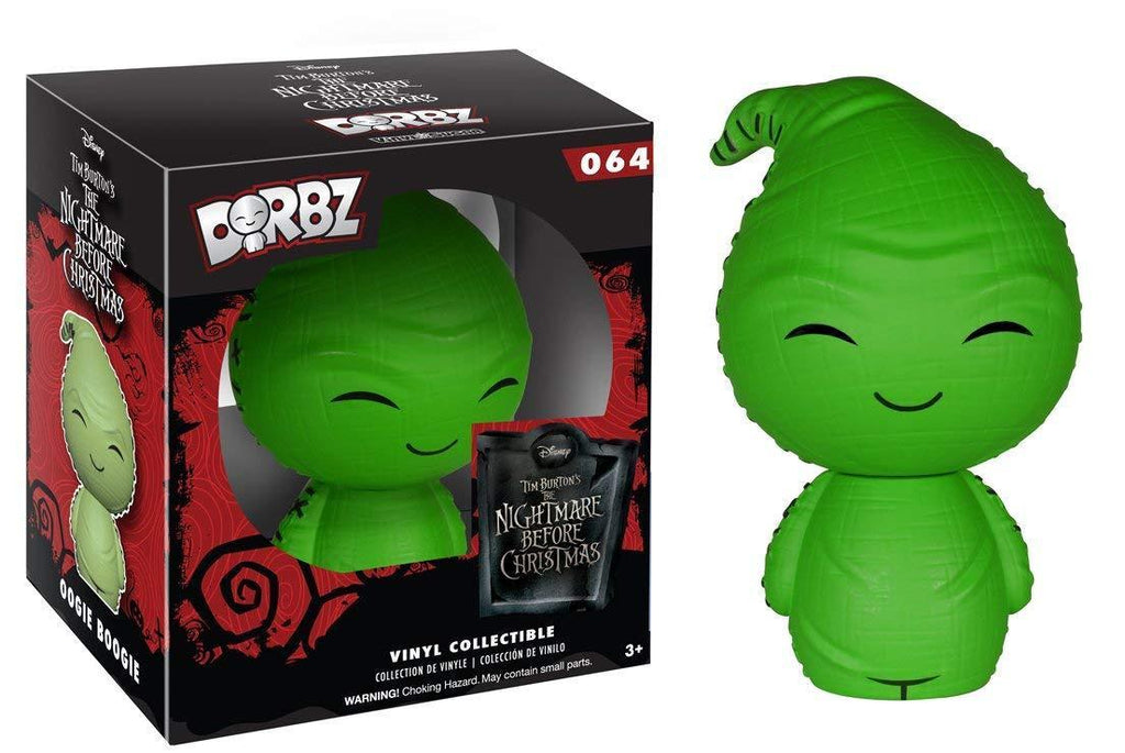Ent. Earth Funko Dorbz #064: Nightmare Before Christmas (Oogie Boogie GITD Ed)