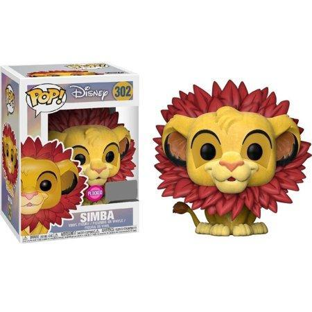 Ent. Earth Funko POP! #302: Lion King (Simba Leaf Mane Flocked)
