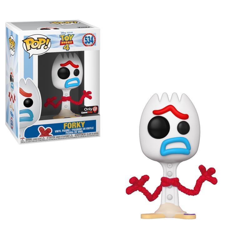 Pop! Disney #534: Toy Story 4 - FORKY Scared (GameStop Exclusive)