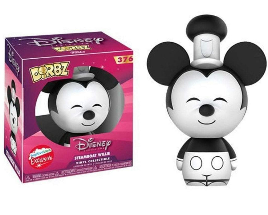 Fugitive Toys Dorbz #376 Disney (Steamboat Willie)