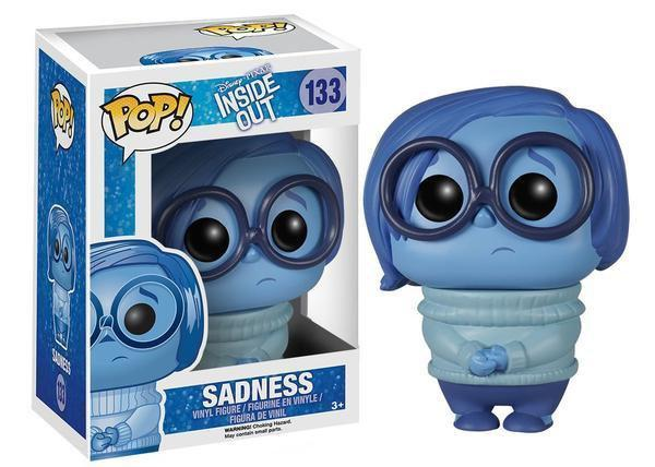 Funko Asia POP! POP! Disney #133: Inside Out: SADNESS