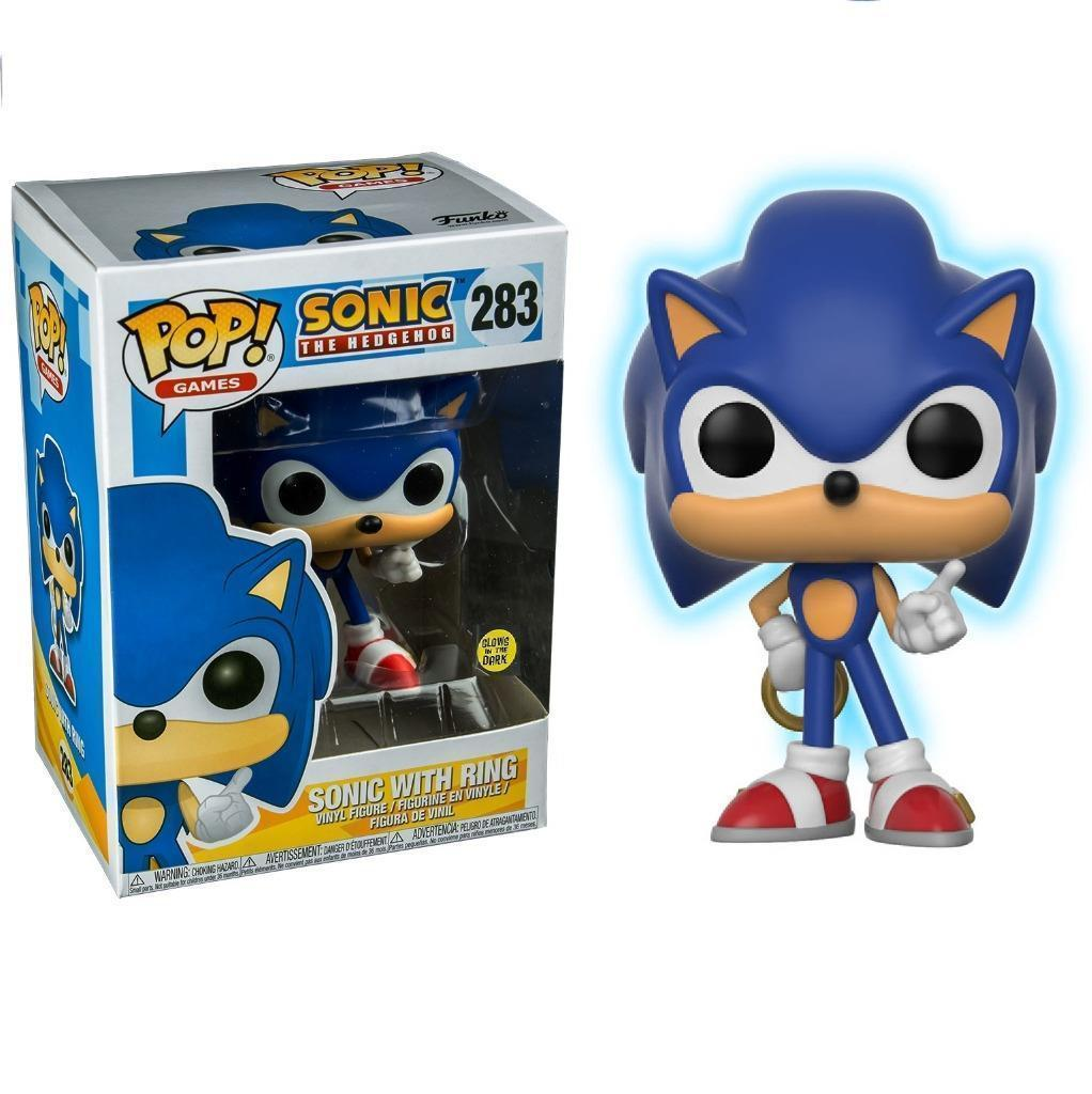 Pop Games 283 Sonic The Hedgehog Sonic With Ring Gitd Toys R Us Insane Toy Shop By Insane Web Deals