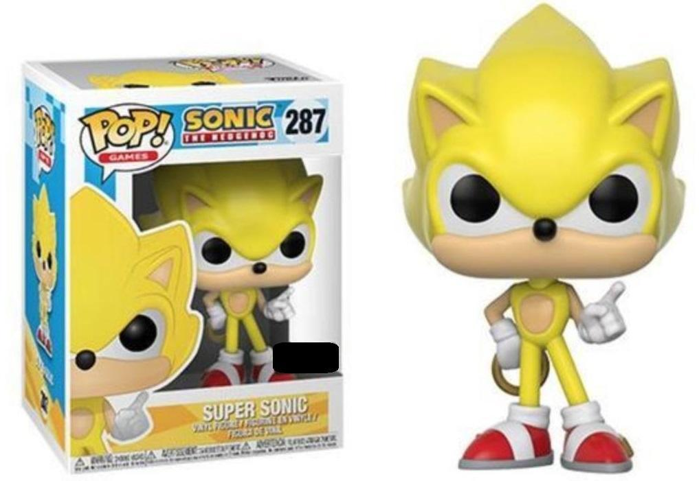 Funko Asia POP! POP! Games #287: Sonic The Hedgehog: SUPER SONIC - Target Exclusive