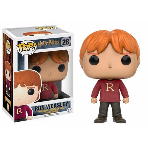 Funko Asia POP! POP! Harry Potter # 28: RON WEASLEY (Sweater) - Hot Topic Exclusive