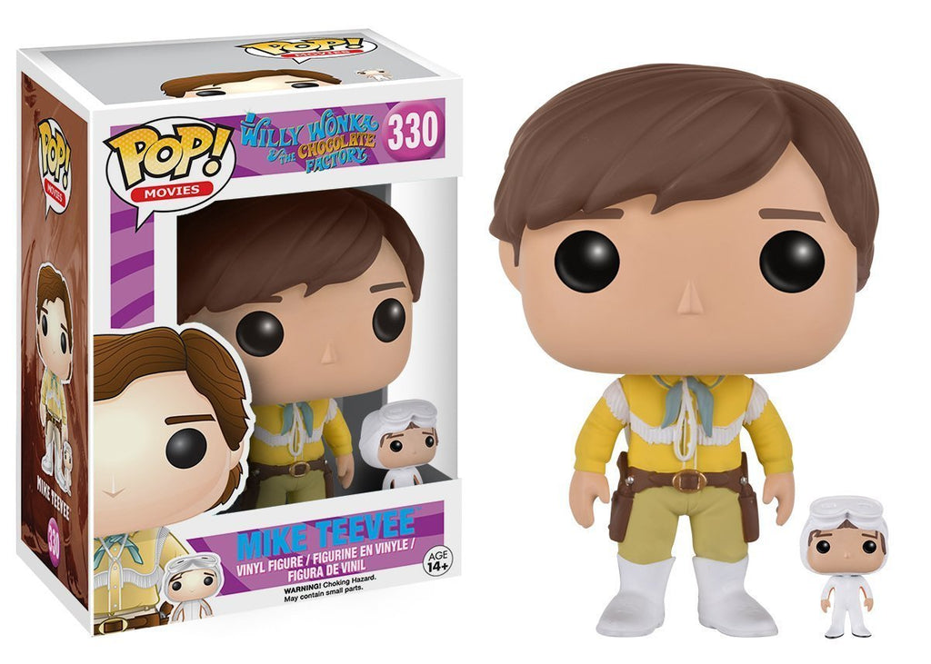 Funko Asia POP! POP! Movies #330: Willy Wonka & the Chocolate Factory: MIKE TEEVEE