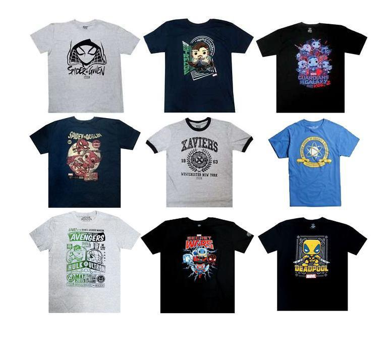 Funko Clothing Funko Marvel Collector Corps Exclusive Mystery T-Shirt