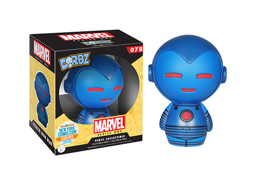 Funko Dorbz Dorbz #078: Marvel: Series One: IRON MAN [BLUE STEALTH ARMOR] - NYCC 2015 Limited Edition 1000 pcs