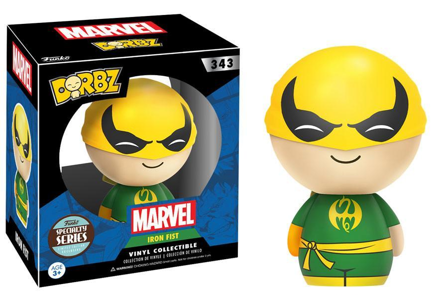 Funko Dorbz Dorbz #343: Marvel Collection: IRON FIST - Specialty Series Edition