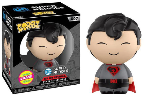 Funko Dorbz Dorbz #407: DC Super Heroes: RED SON SUPERMAN - Chase Limited Edition