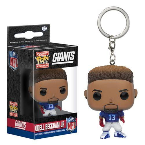 Funko Pocket POP! Pocket POP! Keychain: NFL: ODELL BECKHAM JR. (Home)