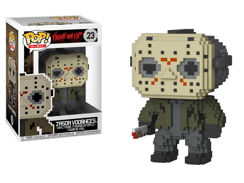 Funko POP! POP! 8-Bit # 23: Horror: JASON VOORHEES