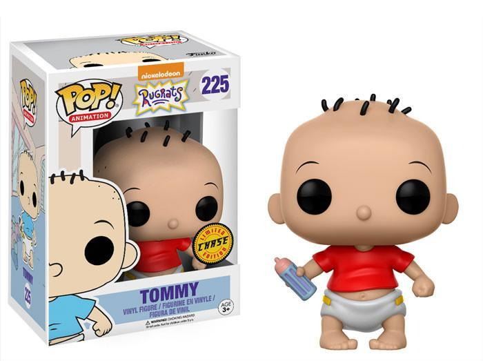 Funko POP! POP! Animation #225: Nickelodeon: Rugrats: TOMMY [Red T-Shirt with Bottle] - Chase Limited Edition