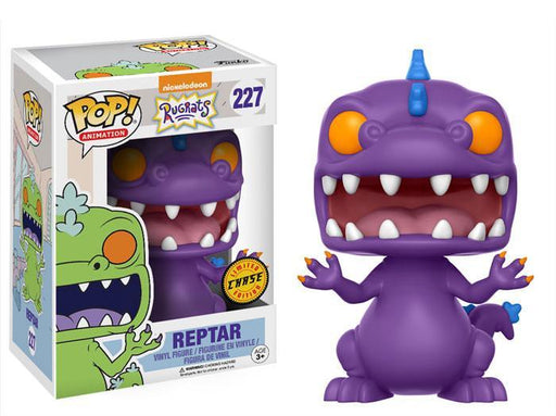 Funko POP! POP! Animation #227: Nickelodeon: Rugrats: REPTAR [PURPLE] - Chase Limited Edition