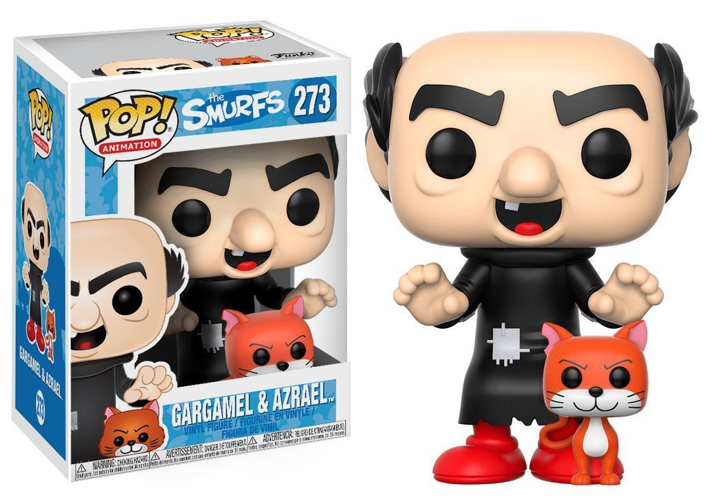 Funko POP! POP! Animation #273: the Smurfs: GARGAMEL & AZRAEL