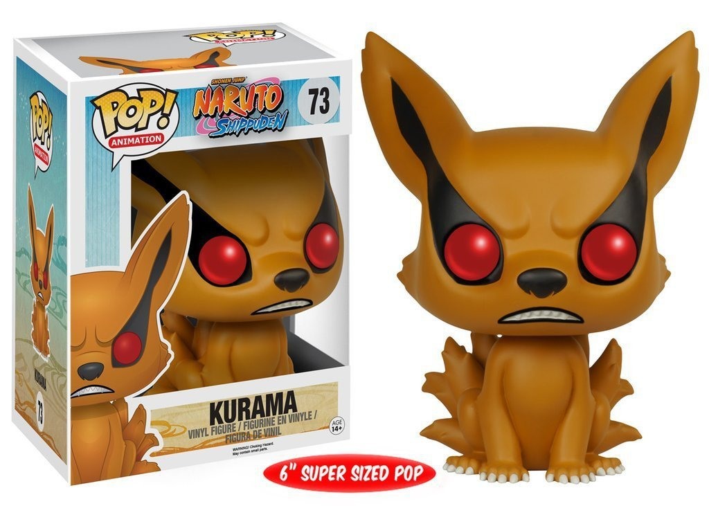 "Funko POP! POP! Animation # 73: Naruto: Shippuden: KURAMA - 6"" Super Sized POP!"