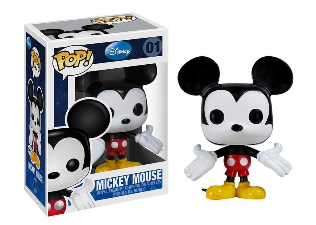 Funko POP! POP! Disney # 01: Mickey Mouse: MICKEY MOUSE