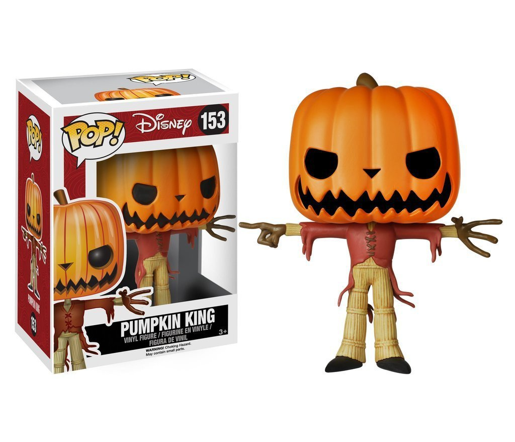 Funko POP! POP! Disney #153: The Nightmare Before Christmas: (JACK THE) PUMPKIN KING
