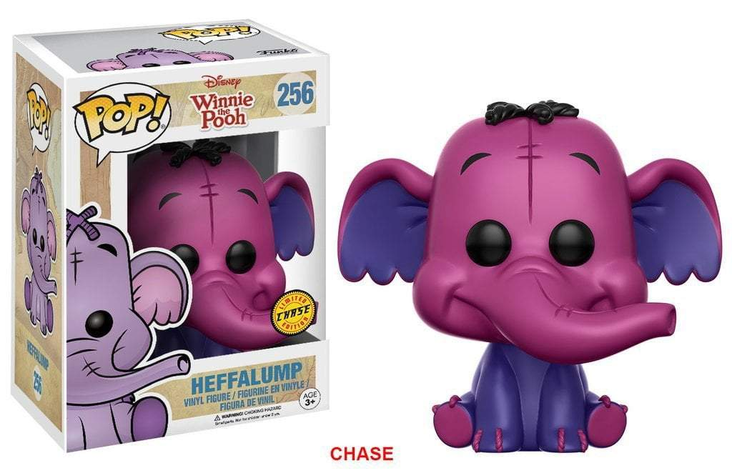 Funko POP! POP! Disney #256: Winnie the Pooh: HEFFALUMP [PURPLE] - Chase Limited Edition