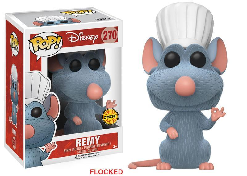 POP! Disney #270: Ratatouille: REMY [FLOCKED] - Chase Limited Edition