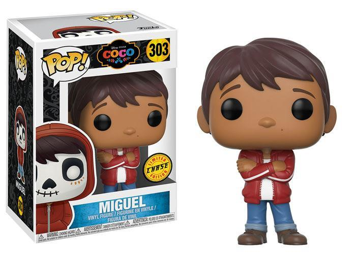 Funko POP! POP! Disney #303: Coco: MIGUEL [without hoodie] - Chase Limited Edition