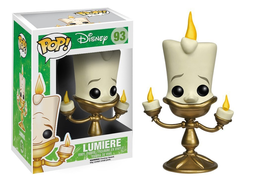 Funko POP! POP! Disney # 93: Beauty and The Beast: LUMIERE