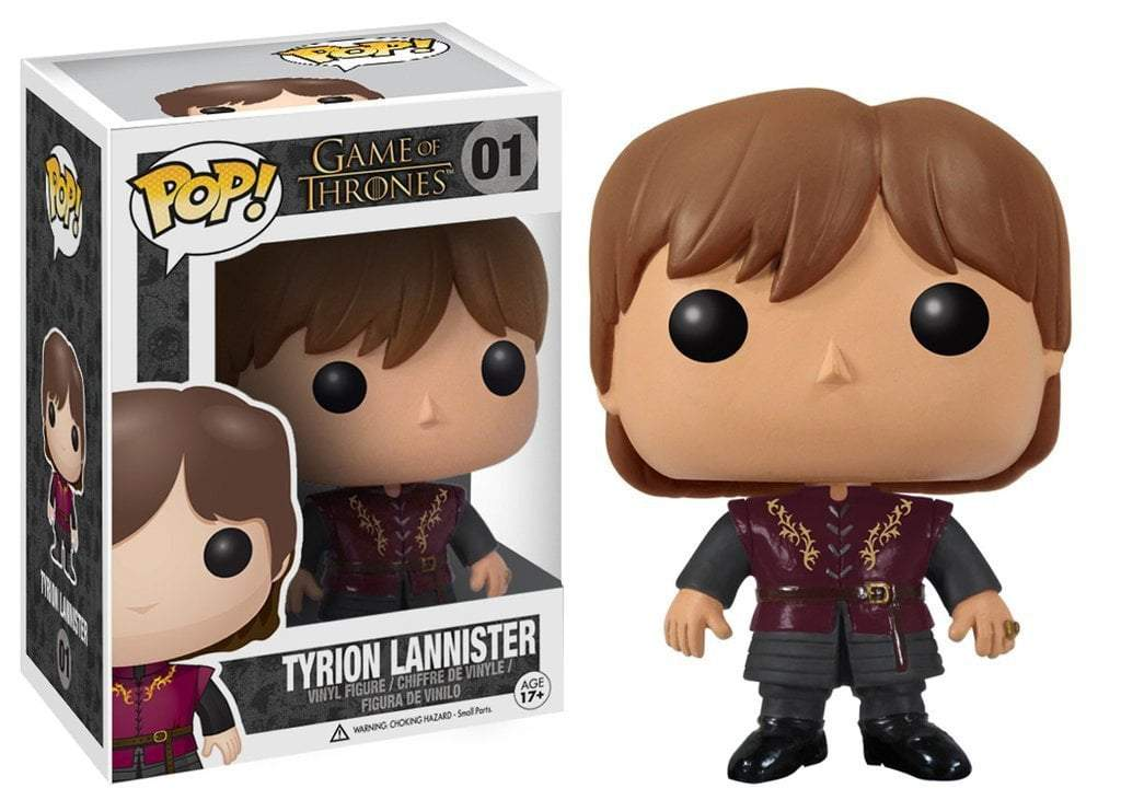 Funko POP! POP! Game Of Thrones # 01: TYRION LANNISTER
