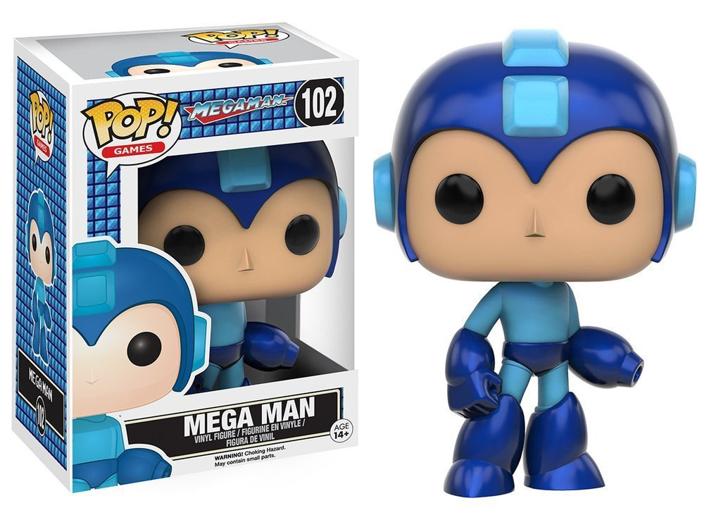 Funko POP! POP! Games #102: Mega Man: MEGA MAN