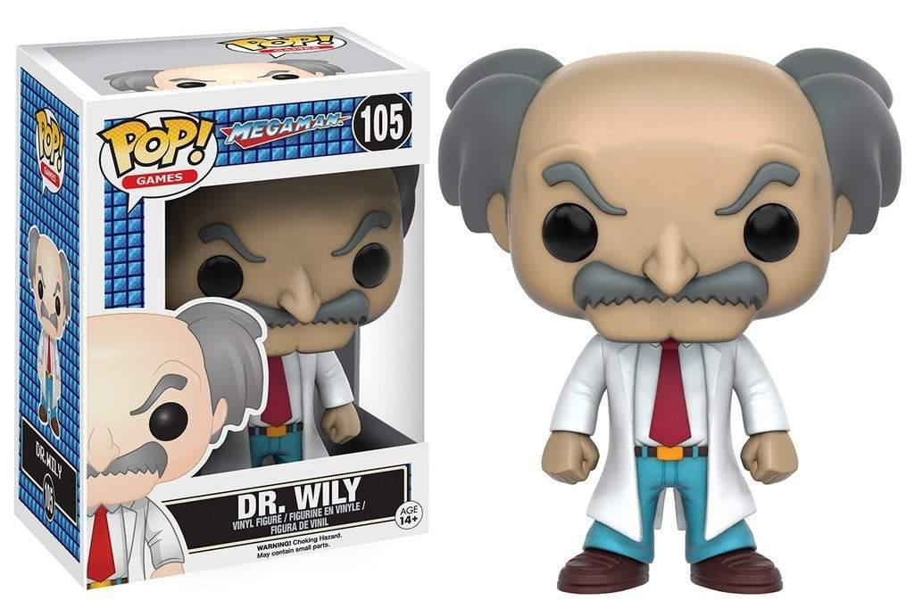 Funko POP! POP! Games #105: Mega Man: DR. WILY