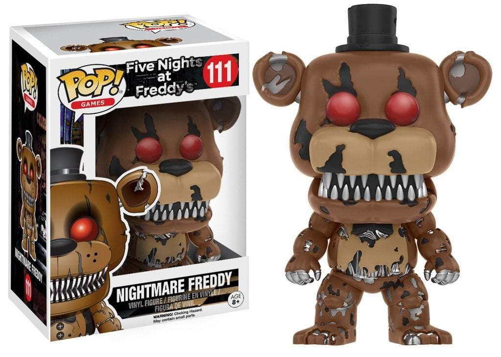 Funko POP! POP! Games #111: Five Nights at Freddy's: NIGHTMARE FREDDY