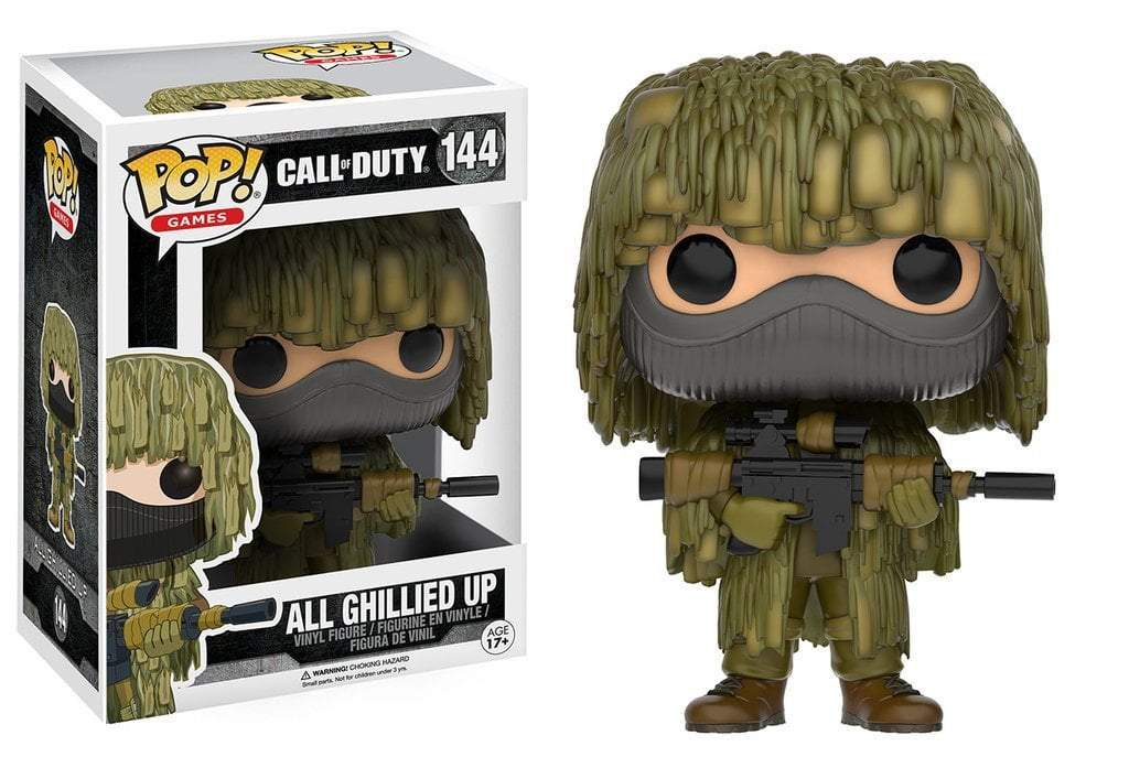 Funko POP! POP! Games #144: Call of Duty: ALL GHILLIED UP