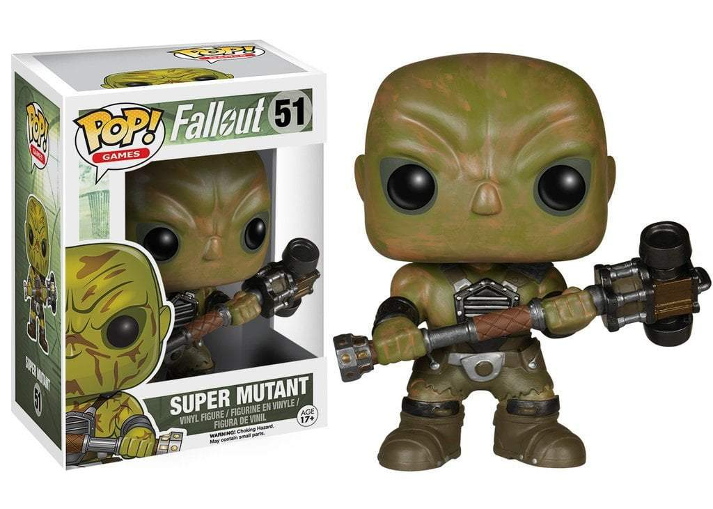 Funko POP! POP! Games # 51: Fallout: SUPER MUTANT