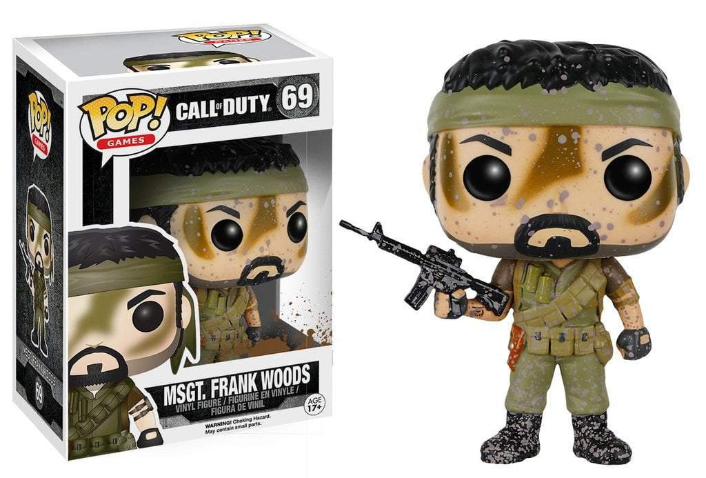 Funko POP! POP! Games # 69: Call Of Duty: MSGT. FRANK WOODS