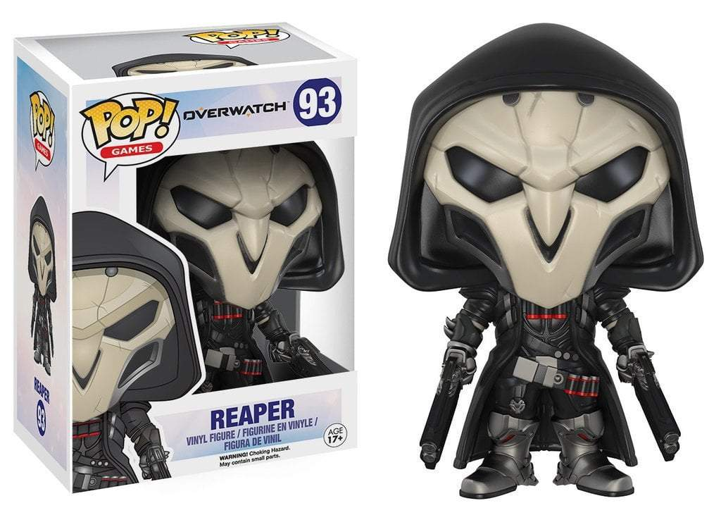 Funko POP! POP! Games # 93: Overwatch: REAPER