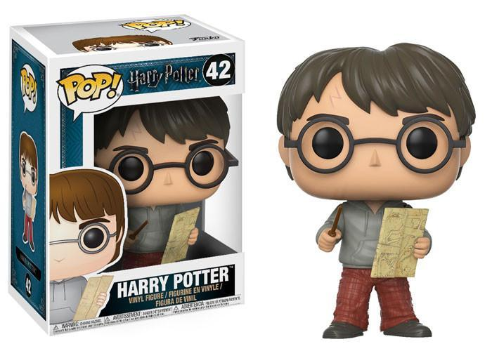 Funko POP! POP! Harry Potter # 42: HARRY POTTER (with Marauders Map)