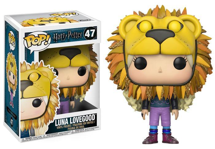 Funko POP! POP! Harry Potter # 47: LUNA LOVEGOOD (Lion Head)