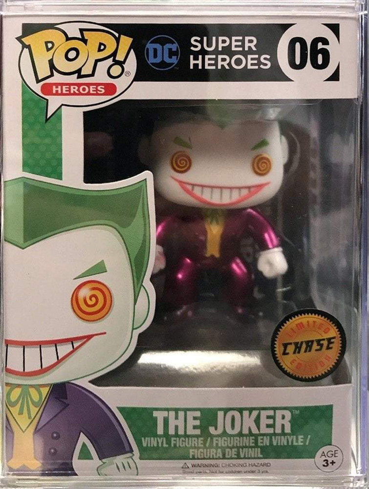 Funko POP! POP! Heroes # 06: DC Super Heroes: THE JOKER [METALLIC] - Chase Limited Edition